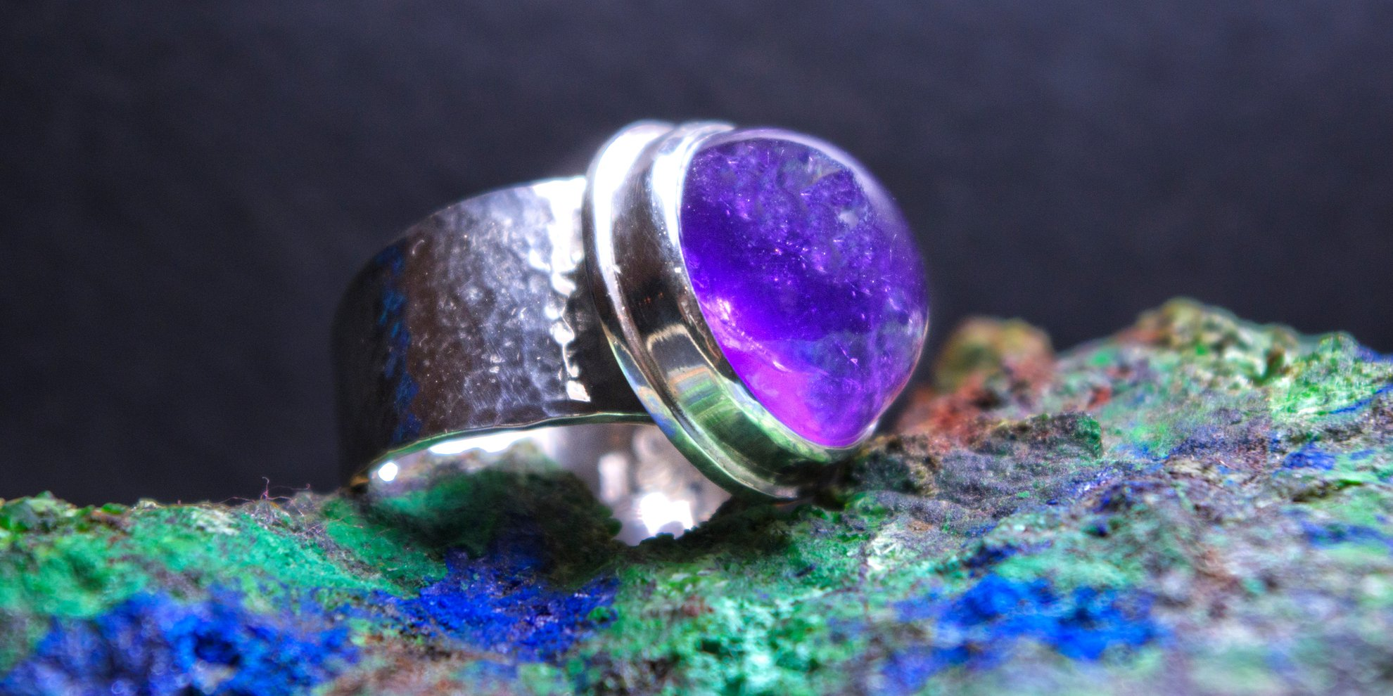 Purple ring